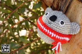 Koala Christmas Ornament | drawn and hooked