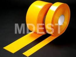 Perma Stripe H6901 <b>50mmx30m</b> Plain <b>Colors</b> Floor Marking Tapes ...