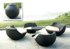 modern outdoor patio furniture. Contemporary Patio Furniture Egg Compact Set 1 Modern Outdoor Chairs Teak Dining Ou . T