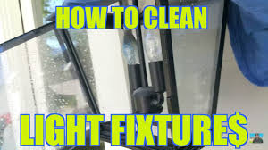 Window Cleaning Tips - How to Make Money Cleaning Light Fixtures - $