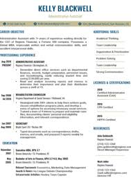 Make sure you choose the right resume format skilled administrative assistants are masters of multitasking, discretion, and time management. 100 Free Resume Templates For Microsoft Word Resume Companion