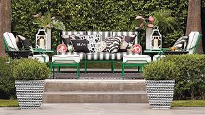 Furniture Frontgate Outdoor Furniture With Black And White