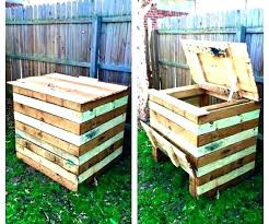outdoor compost bin diy canada plans