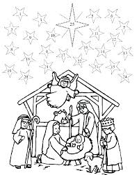 Christmas Manger Printable Coloring Pages Manger Coloring Pages