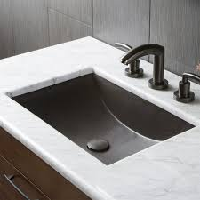 Rectangular Bathroom Sinks Cabrillo Dual Mount Rectangular Bathroom Sink Native Trails