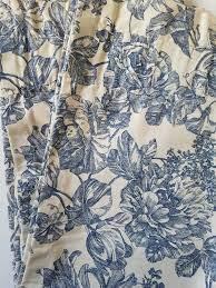 waverly garden toile curtain panel