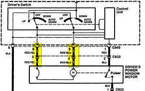 1997 honda accord window wiring wiring diagram expert honda accord power window diagram on 94 accord power windows diagram 1997 honda accord window wiring