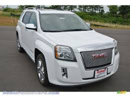 gmc 2015 terrain white.  White 2014 Terrain Denali AWD  Summit White  Jet Black Photo 1 On Gmc 2015