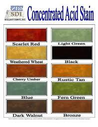Concrete Sealer Color Chart Home Depot Concrete Sealer Bilgisitesi Co