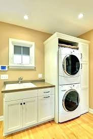 apartment stacked washer dryer combo dimensions full size and stackable was bathroom remodel with washer dryer