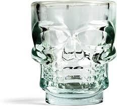Kikkerland <b>Skull</b> Shot <b>Glasses</b>, Set of 4: Varios: Amazon.ca: Home ...
