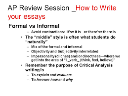 Brief Informal Essay On Topic