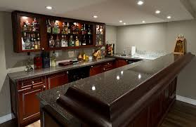 basement bar. Awesome Ideas Basement Bars Finished Bar In The Pictures Intended For Plans 18