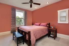 perfect peach color bedroom