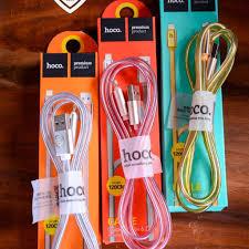 Giá Gốc] Dây sạc điện thoại 2m iphone Hoco UPL12 có đèn LED báo sạc pin