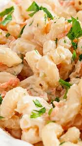 hawaiian macaroni salad l l bbq copycat i m not even a mac salad type of gal but this one is ridiculously yummy it s pretty much the only mac salad