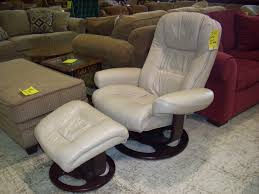 Pottery Barn Living Room Chairs Furniture Leather Chair And Ottoman Oversized Leather Chair And