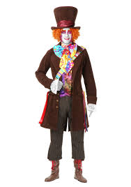 men s deluxe mad hatter costume