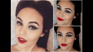 pics of 50s pin up makeup tutorial