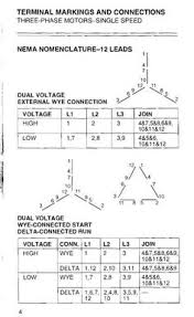 inductionmotorwinding terminals connected in star and delta Dual Voltage Single Phase Motor Wiring Diagram Dual Voltage Single Phase Motor Wiring Diagram #74 Single Phase AC Motor Wiring