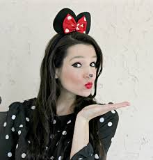 simple minnie mouse makeup tutorial for