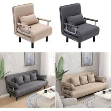 fabric sofa bed recliner chair single
