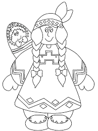 Native American Coloring Pages Awesome Native Coloring Pages For