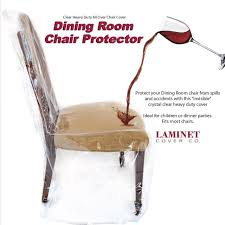 laminet dining room chair protector set of 1 dining chair