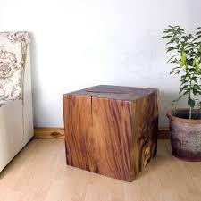 wooden cubes furniture. Wooden Cube Furniture End Table Photo Gallery Wood Teak Mango Monkey Pod . Cubes