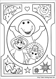 Small Picture and Friends coloring picture