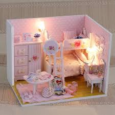 dollhouse furniture cheap. Handmade Doll House Furniture 3d Wooden Miniatura Diy Miniature Dollhouse With Dust Proof Cover Toys For Children Gift Buy Cheap N