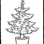 25 Nieuw Kerstboom Leeg Kleurplaat Mandala Kleurplaat Voor Kinderen