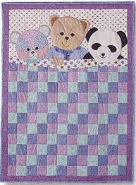 Small Picture My Three Bears Kids Quilt Pattern by Garden Trellis Designs at