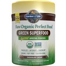 raw organic perfect food green superfood powder chocolate cacao 20 10 oz 570 g