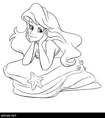 Mermaid Coloring Pages Online Mermaid Coloring Pages Online Little