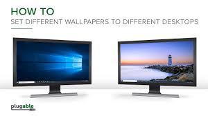 multiple monitors in windows 10