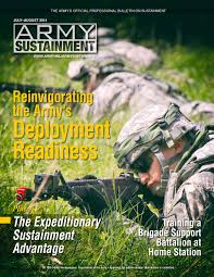Army Sustainment July-August 2014 by Army Sustainment Magazine - issuu