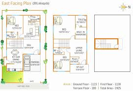 two bedroom house plans east facing fresh house plan for south facing plot with two bedrooms