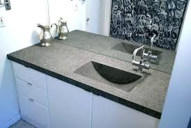 1 piece bathroom sink countertop counters sinks vibrant ideas and concrete s master one combo bold bathroom sinks countertops one piece