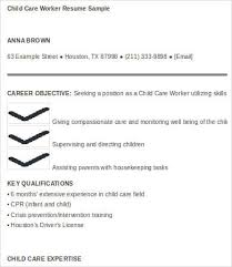 Child Care Resume Template Stunning 28 Child Care Resume Templates PDF DOC Free Premium Templates