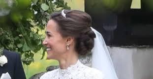 Pippa Middleton Svatební účes Celebrity Vlasy A účesy Cz