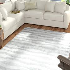 abstract waves gray white area rug grey and 9x12 mercury row