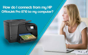 Hp officejet printer driver download. How Do I Connect My Hp Officejet Pro 8710 To My Computer