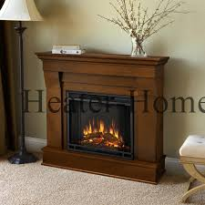 5910e real flame cau electric fireplace espresso lifestyle tilted left