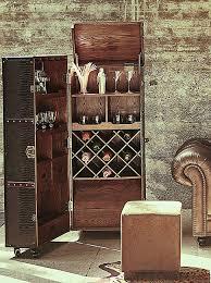 Butlers Hemingway Kofferbar Aus Holz 150x60 Cm In Braun Barschrank Inklusive Tablett