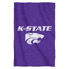 kansas state wildcats ncaa sweatshirt throw by the northwest at bedding com