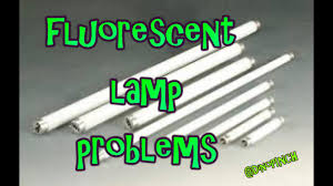 Fluorescent Light Problems Fluorescent Bulb Problems A Simple How To Video