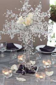 And since the tables are long, this may be a cool idea! | Banquet |  Pinterest | Wedding, Weddings and Cheap wedding decorations
