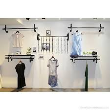 Men's Coat Rack New Floating Shelves Coat Racks Clothing Store Men's And Women's