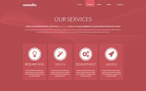 Free One Page Website Template Psd Acrostia Creative Beacon